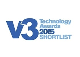 V3 technology awards 2015 shortlist